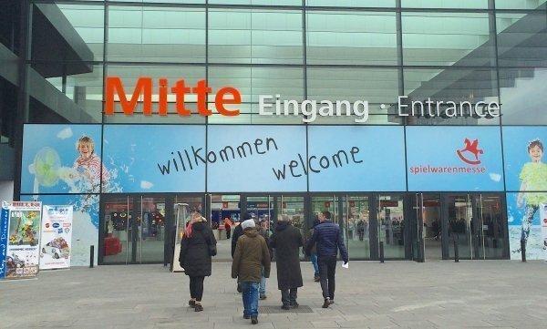 Entree Spielwarenmesse 2015
