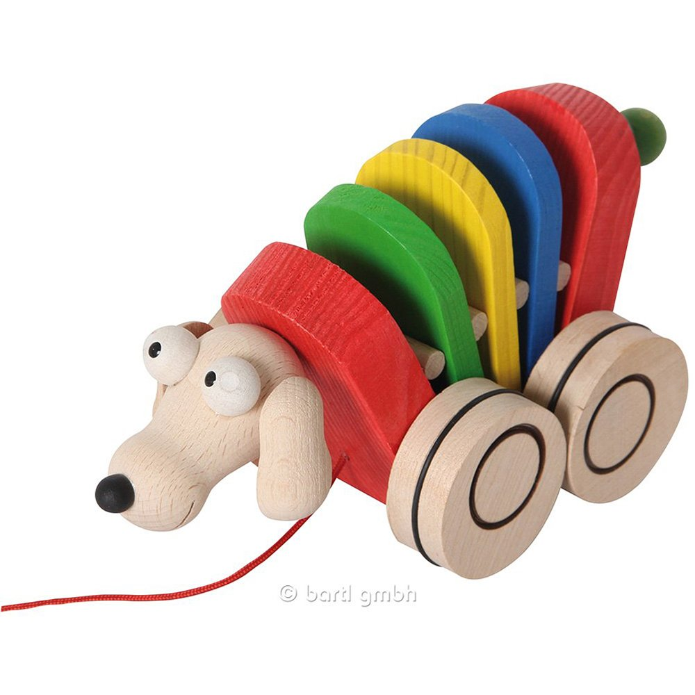 Ziehtier Hund Holzspielzeug